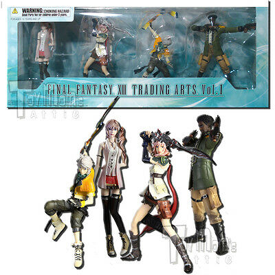 Final Fantasy 13 - Trading Arts Volume 1 Gift Pack Figures - Square Enix