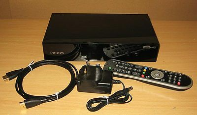 Philips Freeview+ HD 500Gb HDMI TV Recorder Dual Twin Tuner HDTP-8530 + iPlayer