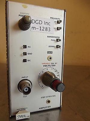 Tektronix 7A16 Amplifier-m1283