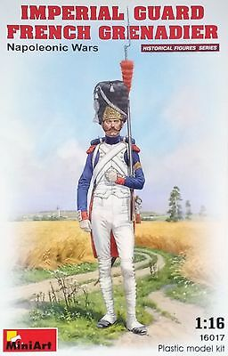 MINIART #16017 Imperial Guard French Grenadier Figur in 1:16