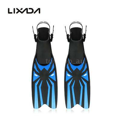 Portable Snorkeling Foot Flipper Diving Long Fins Swimming Equipment O8J4