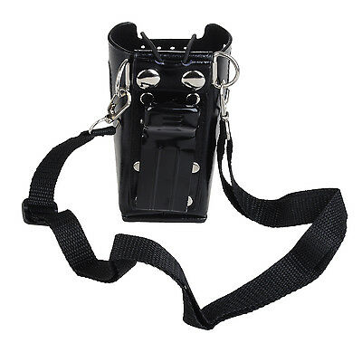 Radio PU Leather Case Holder Pouch For Motorola GP3688 CP150 EP450 with Sling