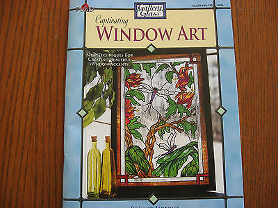 Captivating Window Art Book with Templates