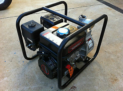"Red Lion Gas Powered 2"" Semi-Trash Transfer Water Pump Dewatering"