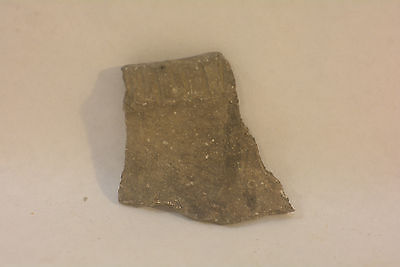 Pre-Historic Hohokam incised Pottery Shard artifact NAA-241 Arizona
