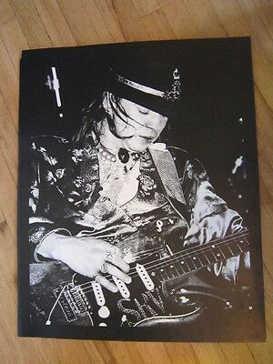 STEVIE RAY VAUGHAN  black and white 20x24 poster
