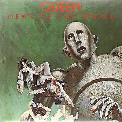 QUEEN 'News Of The World' 180gm Vinyl LP  NEW & SEALED 2015 REMASTERED REISSUE