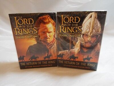 Lord Of The Rings Tcg Return Of The King Sealed Aragorn Starter Deck