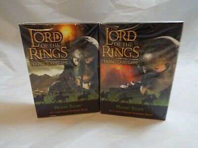 Lord Of The Rings Tcg Mount Doom Sealed Frodo Starter Deck