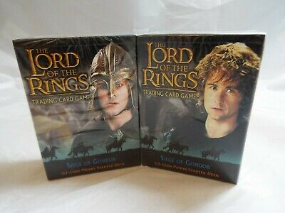 Lord Of The Rings Tcg Siege Of Gondor Sealed Merry Starter Deck