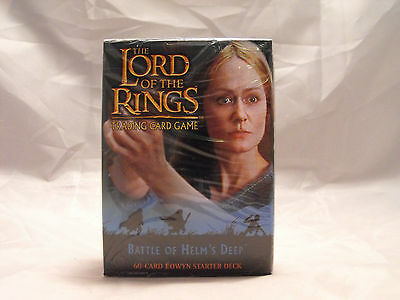 Lord Of The Rings Tcg Battle Of Helm's Deep Sealed Eowyn Starter Deck