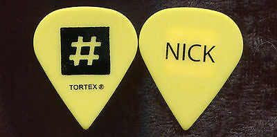 DEATH CAB FOR CUTIE 2012 Code Tour Guitar Pick NICK HARMER custom concert stage