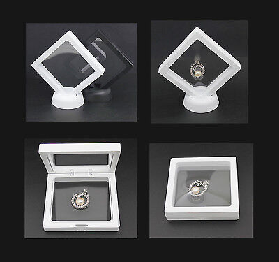 New design PE Thin Film 3D display for Jewelry U disk zippo - white color