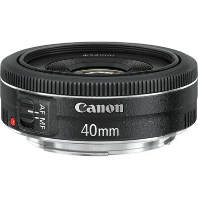 Canon EF 40mm f/2.8 STM Pancake Lens, Canon Authorized