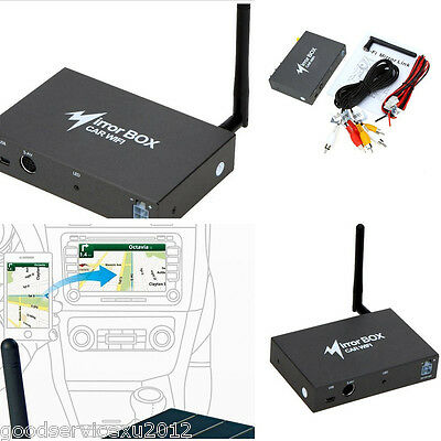 DC12V Autos Black Box Wireless Wifi Converter Mirror Link Support Many Language