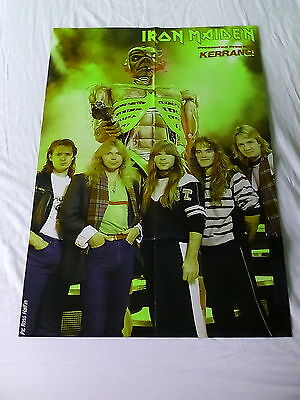 Doro Pesch  Warlock   Iron Maiden      Double Sided           Poster (LME87)