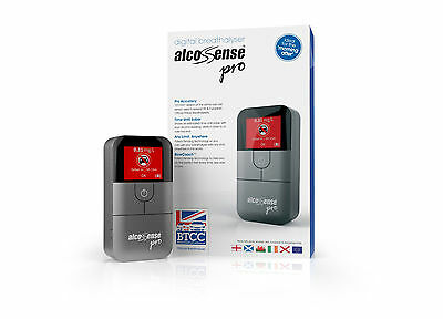UK EU Alcohol Breathalyser Test AlcoSense Pro Fuel Cell Professional Alco Sense