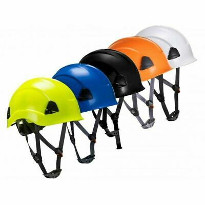Portwest PS53 Scaffolding Climbing Steeplejack Safety Helmet Hard Hat Chin Strap