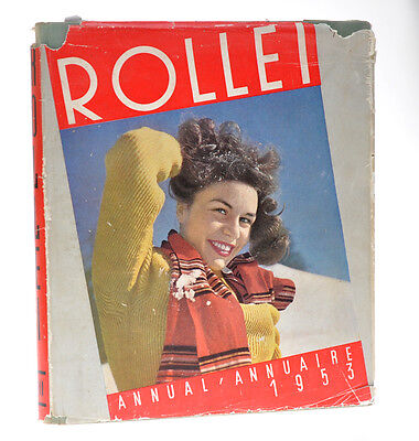 """""""Rollei Annual 1953"""" annuale Rollei 1953 in inglese/francese   D785"""