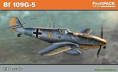 EDUARD 82112 WWII German Bf109G-5 in 1:48 ProfiPACK!!