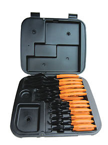 12 Piece Combination Internal/External Snap Ring pliers set Lang 3495 LNG