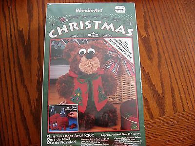 Christmas Bear Kit by Wonder Art
