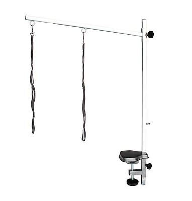 Pedigroom  stainless steel dog pet cat grooming bar arm noose clamp 50 x 80cm