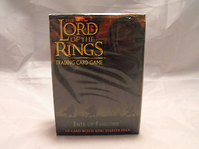 Lord Of The Rings Tcg Ents Of Fangorn Sealed Witch-King Starter Deck