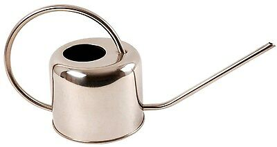 Esschert Design Stainless Steel Watering Can Modern Style Small Small 1