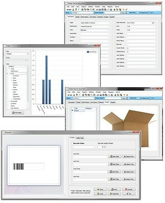 Windows 7, 8, 10 Stock Room Pallet Inventory Quanity Tracking Database Software