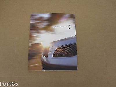2013 Lincoln MKS MKT sales brochure dealer literature