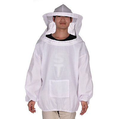 Beekeeper Beekeeping Protective Veil Suit Dress Jacket Smock  Bee Hat • EUR 10,99