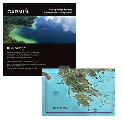 GARMIN Bluchart G2 - Grecia Occidentale e Atene -SD/MICRO SD ART. 010-C0834-20
