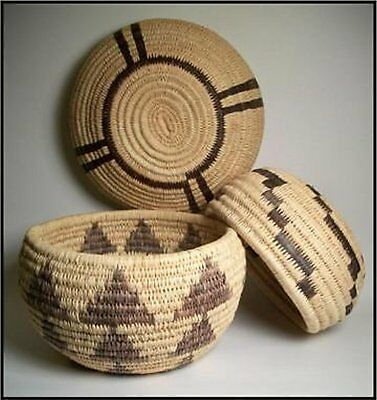 Traditional Native American Style Coiled Basket Kit Expanded