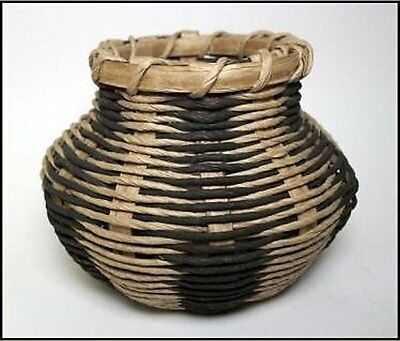 Traditional Native American Style Cherokee Wicker Basket Kit