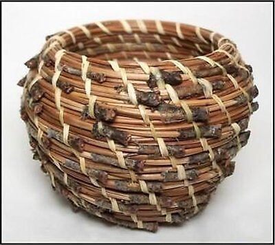 Traditional Native American Style Pine Needle Basket Kit Easy Start