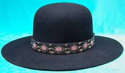 """jimi Hendrix, Billy Jack, Indian Joe"" Hat + Hatband Choice"
