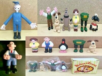 Wallace & Gromit Mini Figures & Soft Toys