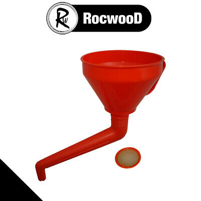 "165mm 6.5"" Diameter Round Funnel With Offset Cranked Spout"