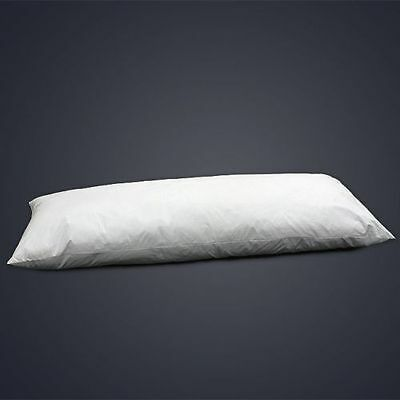 """Pair of 6FT King Size Duck Feather Extra Filled Bolster Pillow (19"""" x 72"""")"""