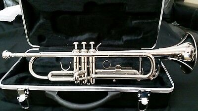 Trumpet-Bankruptcy-New Silver Concert Intermediate Trumpets
