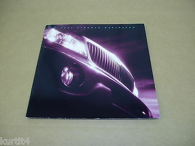 1999 Lincoln Navigator sales brochure dealer literature catalog