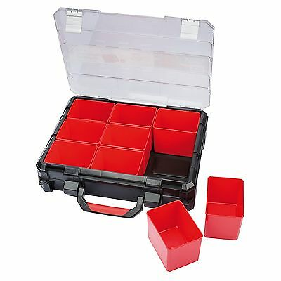 Draper Expert 9 Deep Tub Heavy Duty Tool/Nuts Storage Organiser Case - 31241