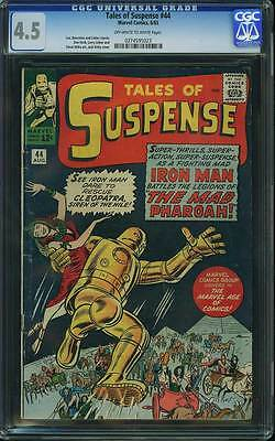 Tales of Suspense # 44  The Mad Pharoah !   CGC 4.5 scarce book !