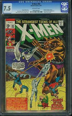 X-Men # 65  Slaves of the Star-Spawn ! Neal Adams art !  CGC 7.5 scarce book !