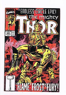 Thor # 425 The Flame, The Frost, and the Fury ! grade - 8.5 hot book !!
