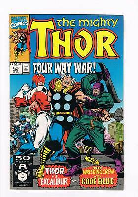 Thor # 428 If This Be Juggernaut ! grade - 9.0 hot book !!
