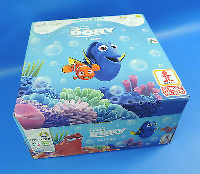 Seifenblasen Display / Bubbels  Disney Pixa Finding Dory / Memo 36 Stück a 60ml