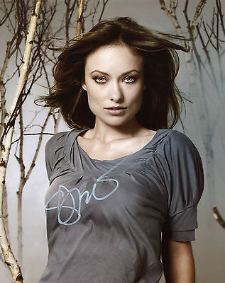 Olivia Wilde ~ American Film & Television Actress ~ Hand-Signed 10X8 Photo + Coa