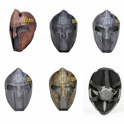 5 Colors Sparta Warrior Full Face Protection Mask For Airsoft Paintball War Game